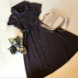 Gorgeous and Soft Small Cowl Neck Maternity Dress